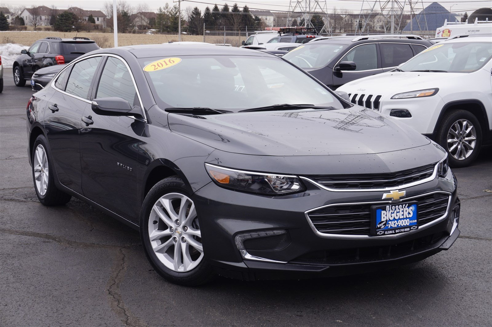 Certified Pre Owned 2016 Chevrolet Malibu Lt