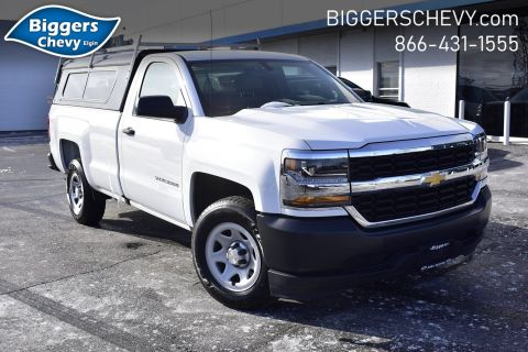 Certified Pre-Owned 2018 Chevrolet Silverado 1500 Work Truck