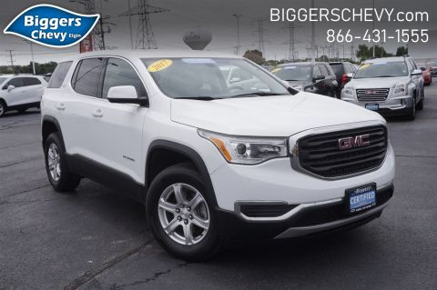 Certified Pre-Owned 2017 GMC Acadia SLE