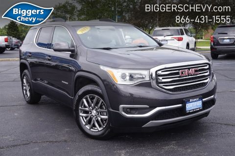Certified Pre-Owned 2017 GMC Acadia SLT