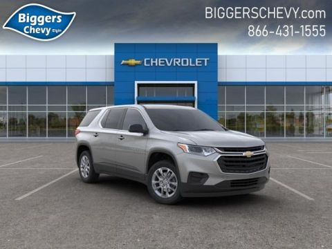 New 2020 Chevrolet Traverse LS